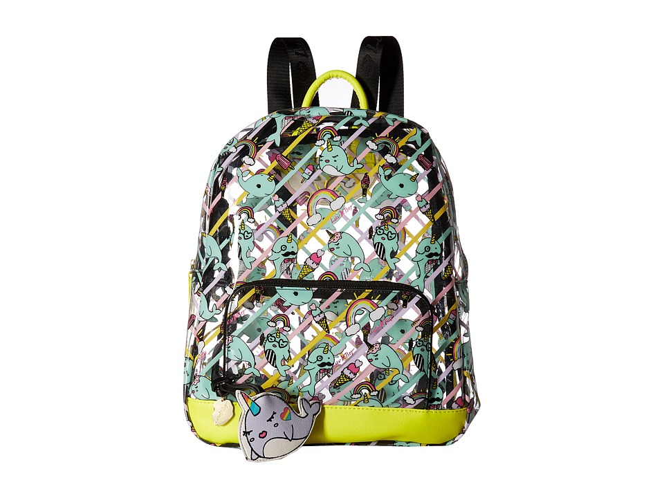 Luv Betsey Iseeu Clear Backpack (Citron) Backpack Bags