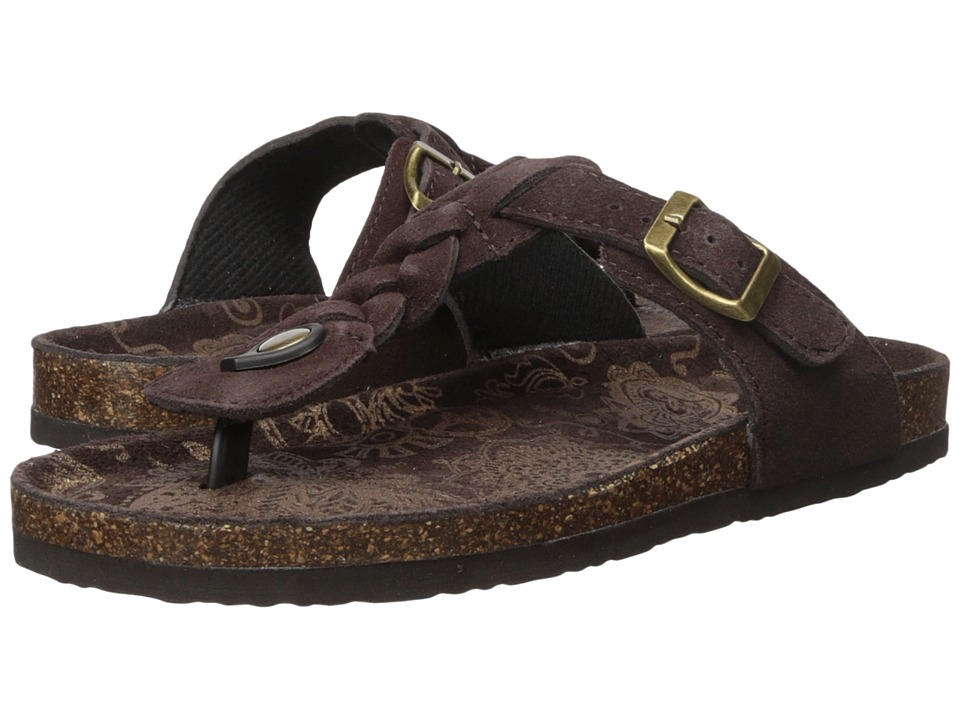 MUK LUKS Zoe (Chocolate) Women