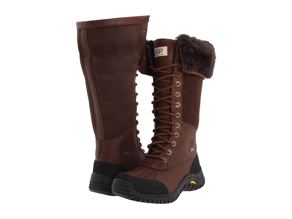 UGG - Adirondack Tall (Obsidian) Women's Cold Weather Boots
