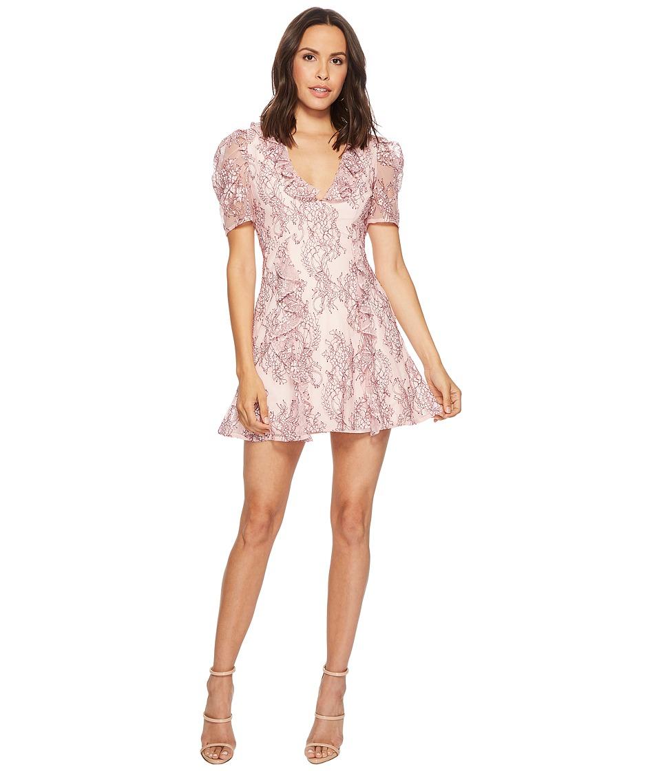 KEEPSAKE THE LABEL Hold On Lace Dress (Blush) Women