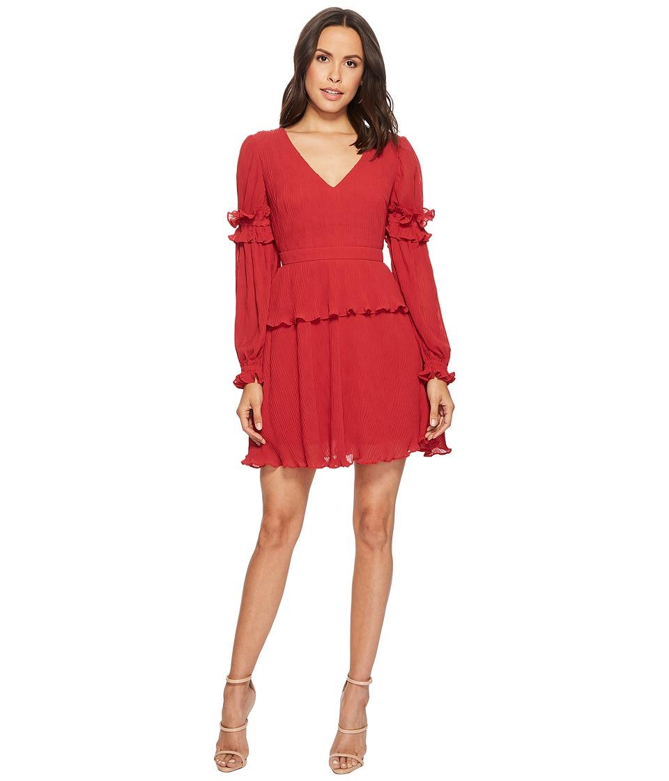 KEEPSAKE THE LABEL Skylines Mini Dress (Scarlet Red) Women
