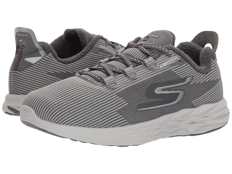 SKECHERS Performance Go Run 5 Therm 360 (Charcoal) Women