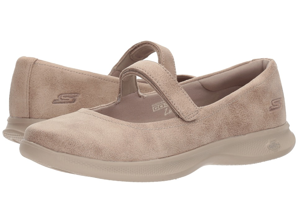 SKECHERS Performance Go Step Lite Enchanting (Taupe) Women