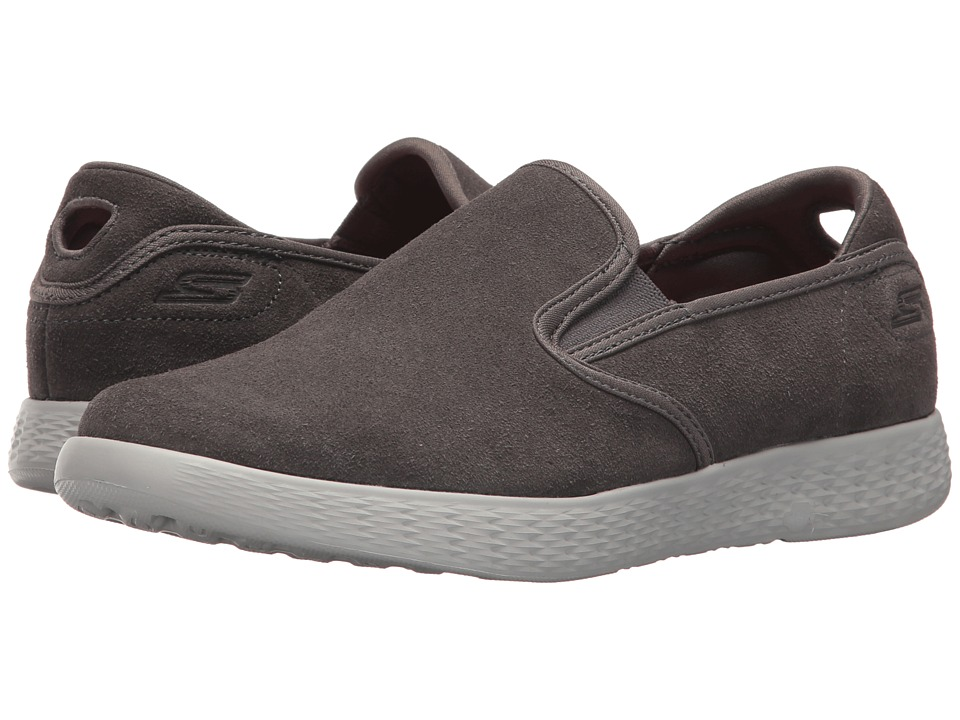 SKECHERS Performance On-The-Go Glide Recreate (Charcoal) Women