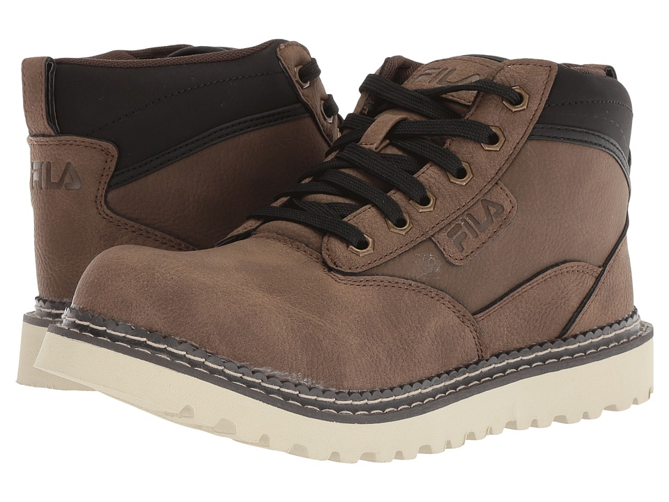 Fila Grunson Boot (Walnut/Espresso/Fila Cream) Men
