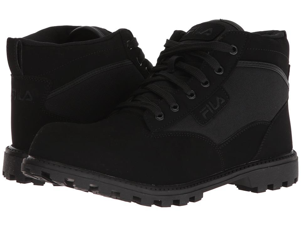 Fila Grunge 17 Boot (Black/Dark Silver/Black) Men