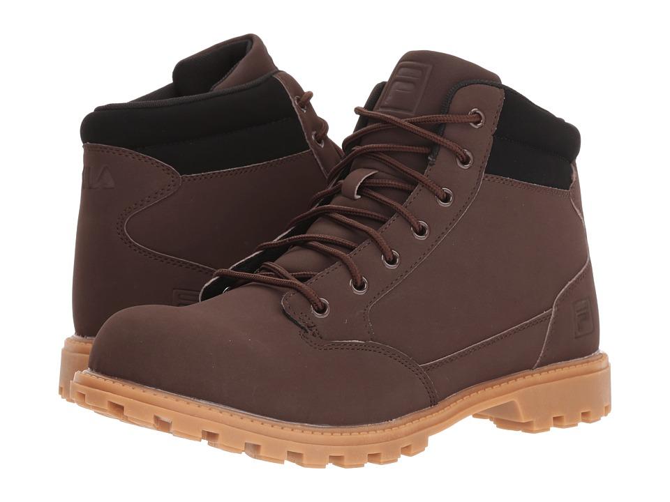 Fila Nycon Boot (Espresso/Black/Gum) Men
