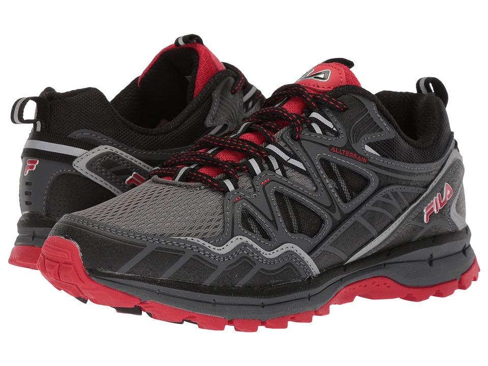 Fila Memory Tko Tr 5.0 Trail (Castlerock/Dark Shadow/Fila Red) Men