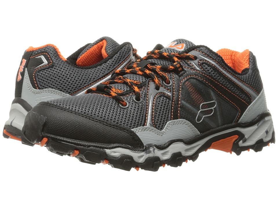 Fila Vitality 8 Trail (Pewter/Black/Red Orange) Men