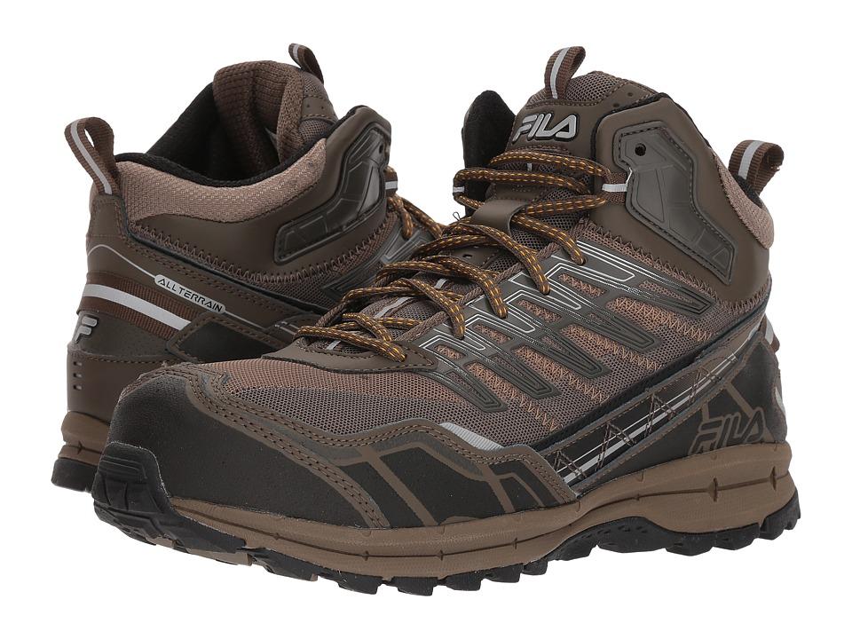 Fila Hail Storm 3 Mid Composite Toe Trail (Walnut/Major Brown/Gold Fusion) Men