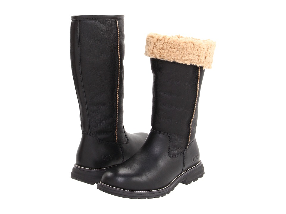 UGG - Brooks Tall (Black) Women's Pull-on Boots
