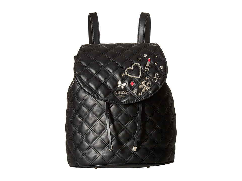 GUESS Darin Backpack (Black) Backpack Bags