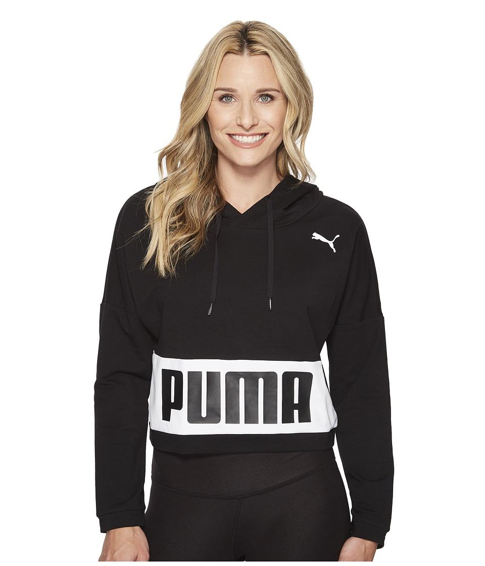 PUMA Urban Sports Hoodie TR (Cotton Black 1) Women