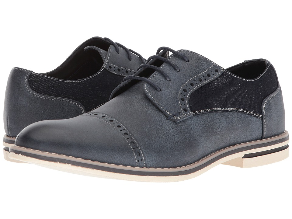 Kenneth Cole Unlisted Ozzie Lace-Up B (Navy) Men