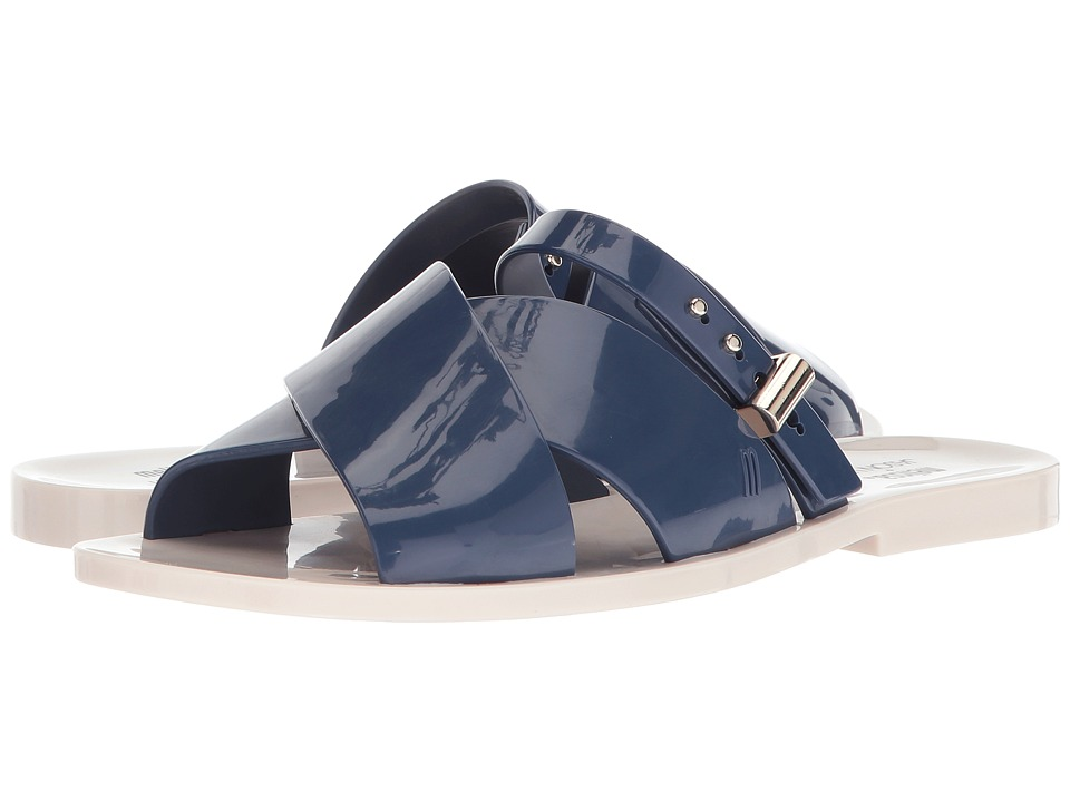 Melissa Shoes Diane + Jason Wu (White/Blue) Women