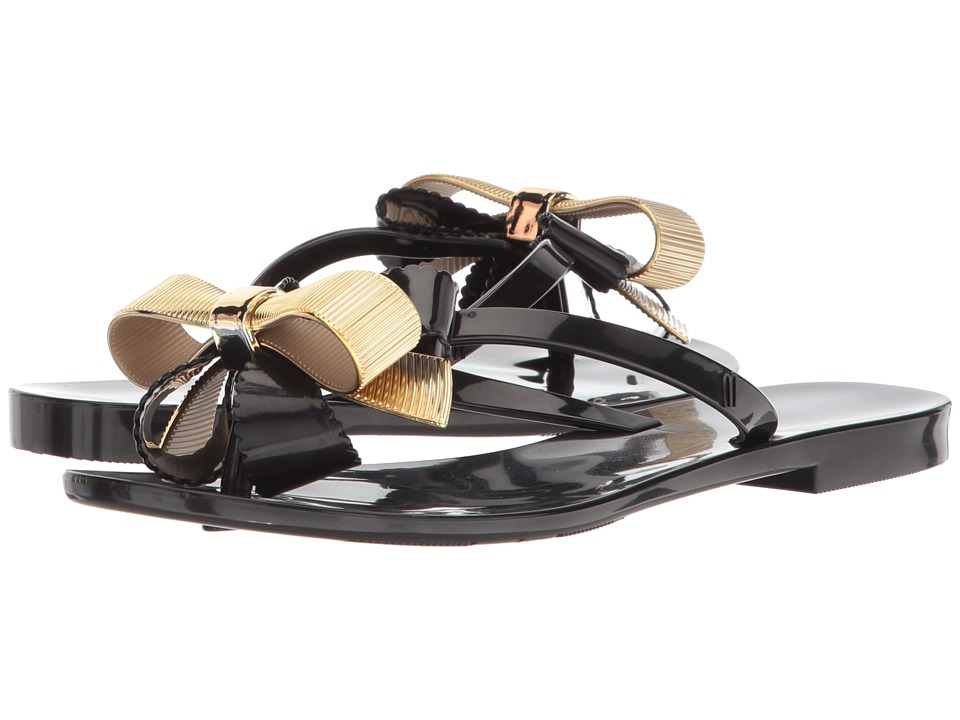 Melissa Shoes Harmonic XII (Black/Gold) Women