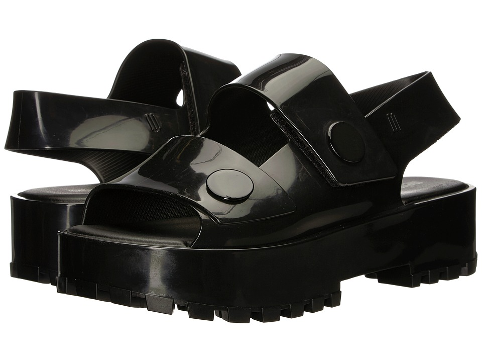 Melissa Shoes Strap Sandal (Black) Women
