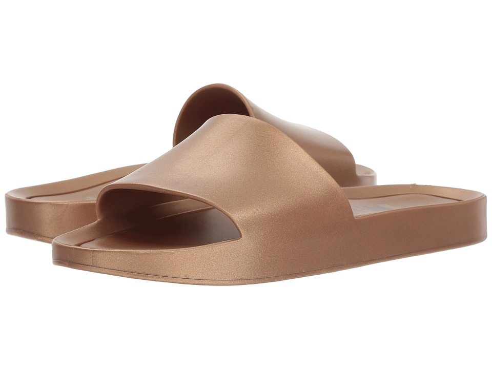 Melissa Shoes Beach Slide Shine (Gold) Women