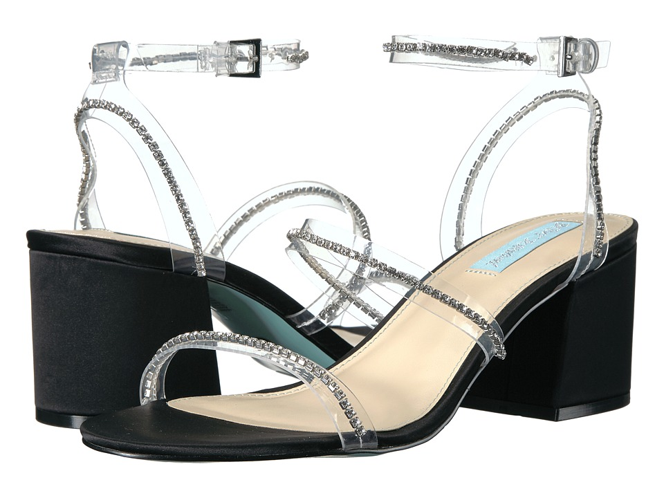 Blue by Betsey Johnson Sami (Black Metallic) Women