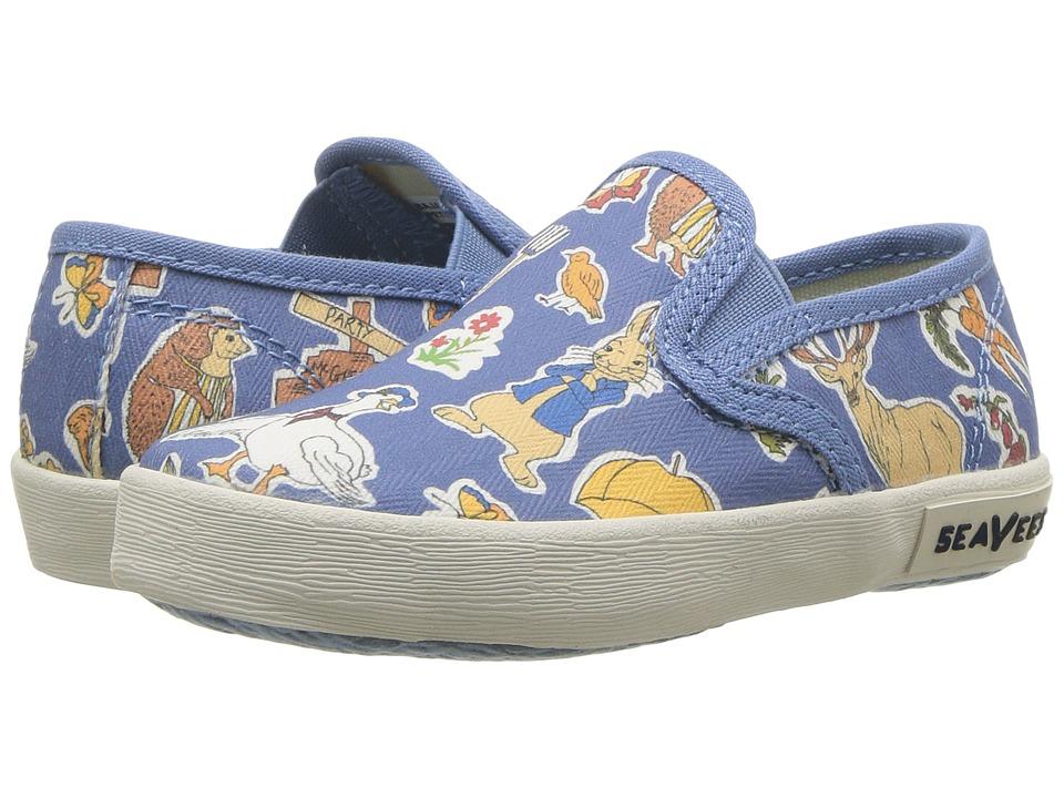 SeaVees Baja Slip-On Peter Rabbit (Toddler/Little Kid/Big Kid) (Blue Peter Rabbit) Men