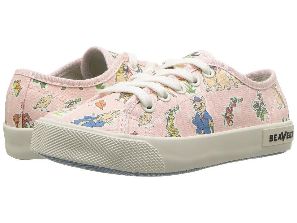 SeaVees Monterey Sneaker Peter Rabbit (Toddler/Little Kid/Big Kid) (Pink Peter Rabbit) Men