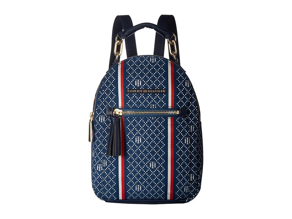 Tommy Hilfiger Macon Backpack (Navy/Multi) Backpack Bags