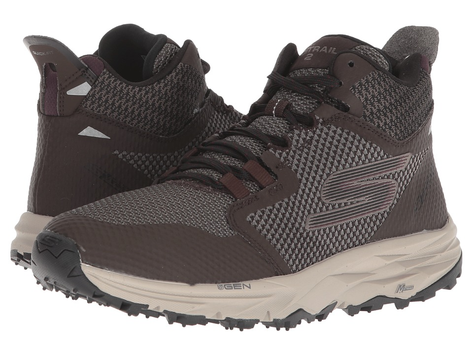 SKECHERS Performance Go Trail 2 Grip (Chocolate) Women