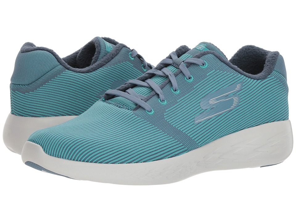 SKECHERS Performance Go Run 600 Therm 360 (Blue) Men