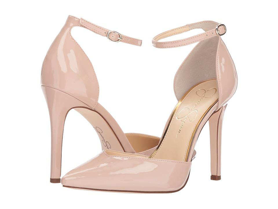 Jessica Simpson Cirrus (Nude Blush Patent) High Heels