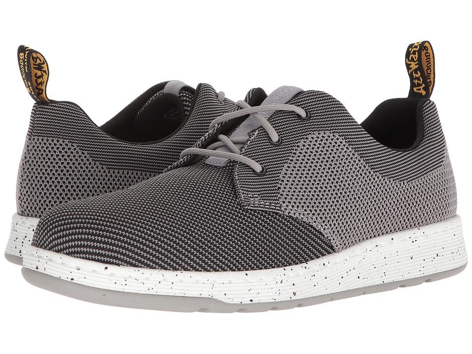 Dr. Martens Cavendish Knit (Mid Grey/Black Knit) Lace up casual Shoes