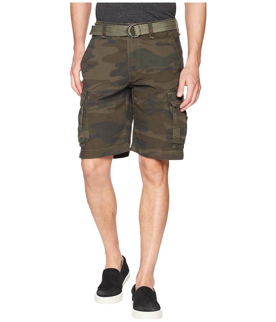 UNIONBAY Survivor Camo Cargo Short (Army Camo 1) Men
