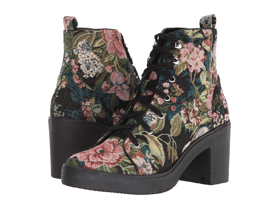 Steve Madden Abby (Floral) Women's Lace-up Boots