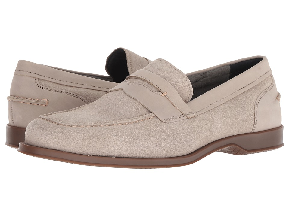 Cole Haan Fleming Penny Loafer (Stone Suede) Men