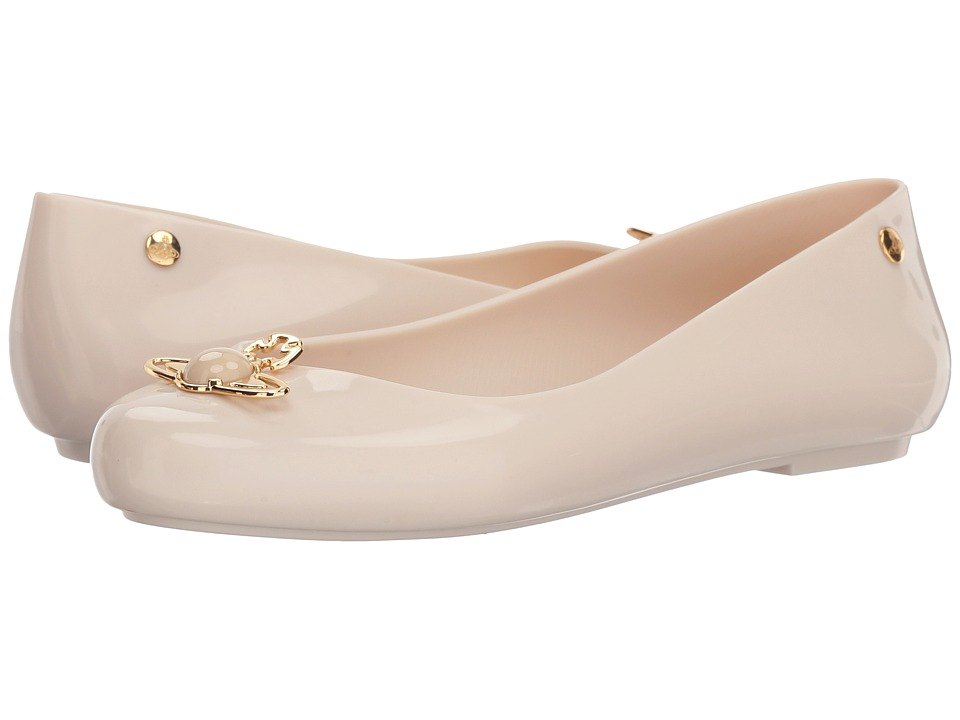 Melissa Shoes VWA + Space Love II (Beige) Women