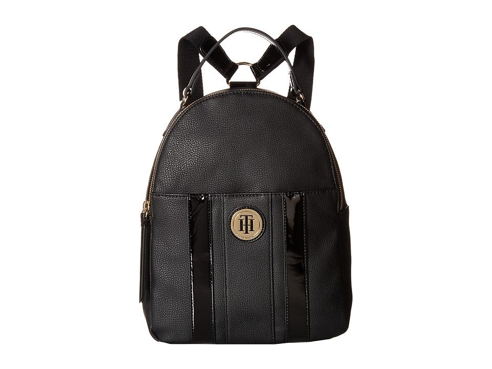 Tommy Hilfiger Agnes Backpack (Black) Backpack Bags
