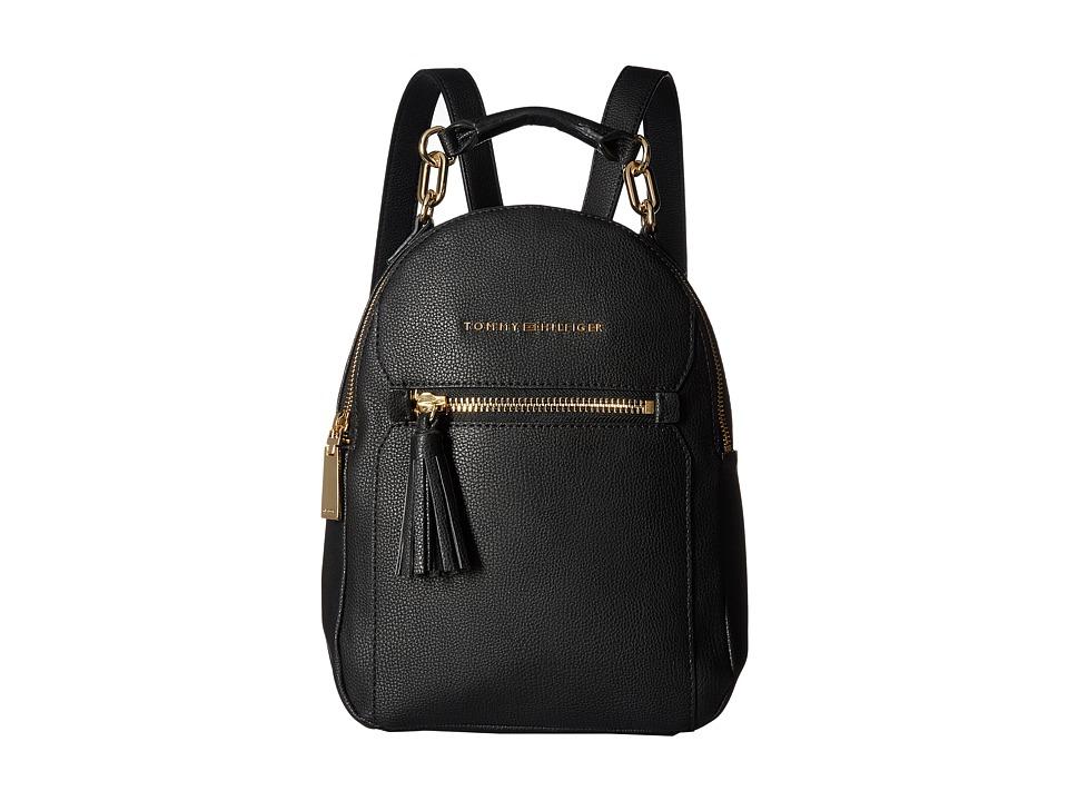 Tommy Hilfiger Macon Backpack (Black) Backpack Bags