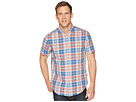 Jeans Tommy Button Down Short Shirt Linen Sleeve Check Rqxd6qS