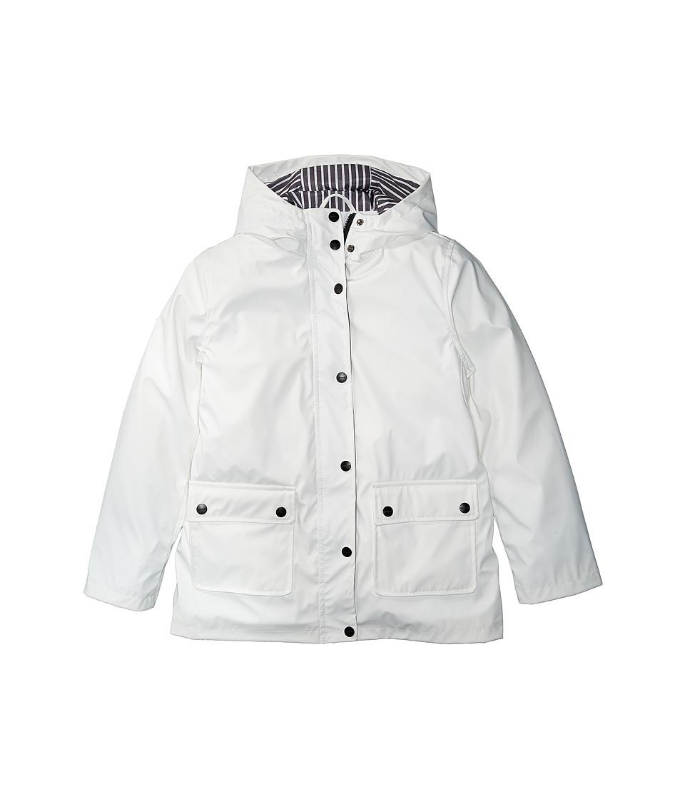 Urban Republic Kids Harper Pinstripe Raincoat (Little Kid/Big Kid) (White) Girl