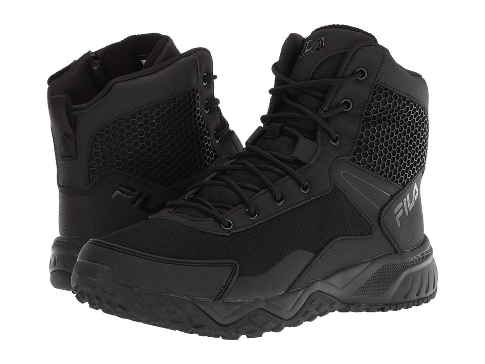 Fila Chastizer Work Boots (Black/Black/Black) Men