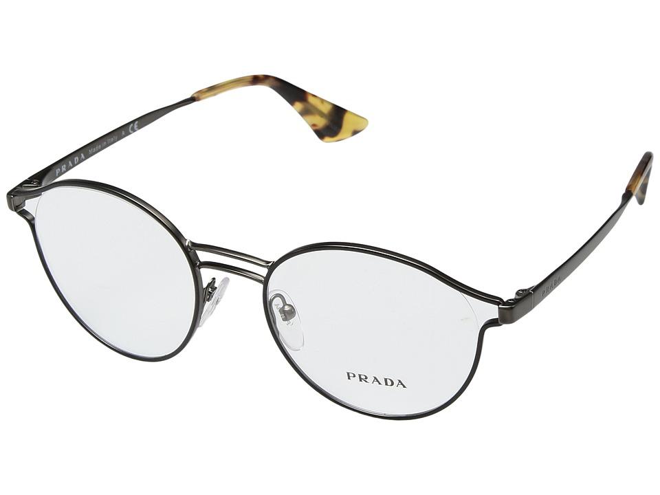 Prada - 0PR 62TV (Black) Fashion Sunglasses