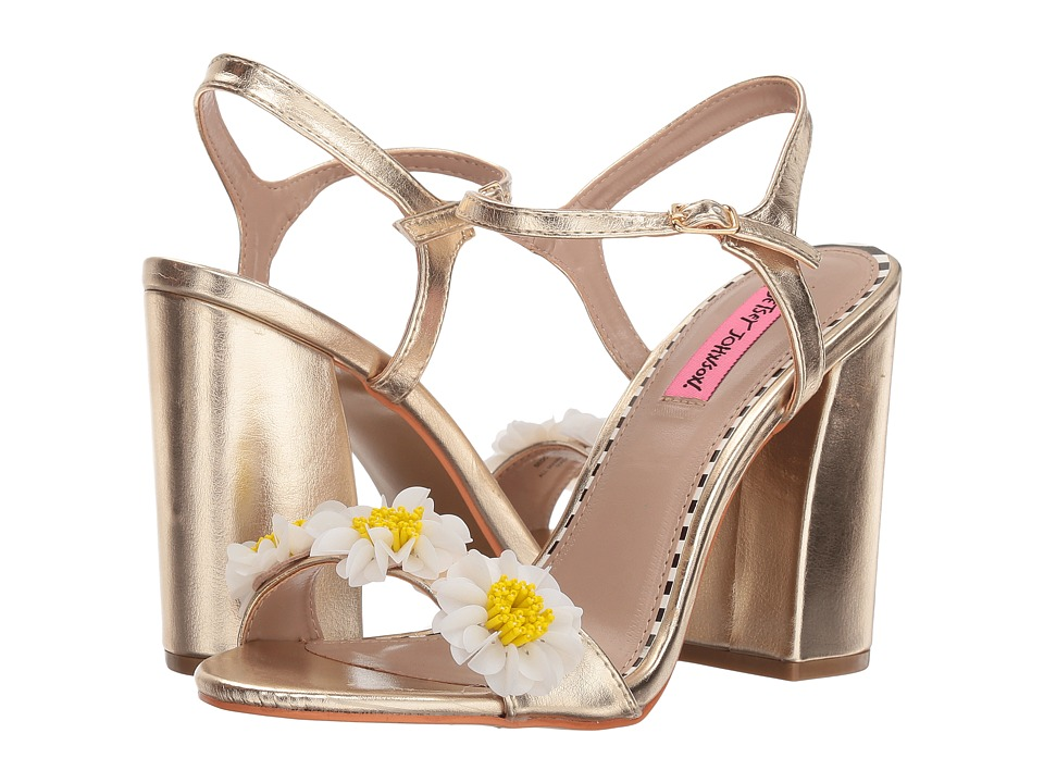 Betsey Johnson Sedona (Gold) High Heels