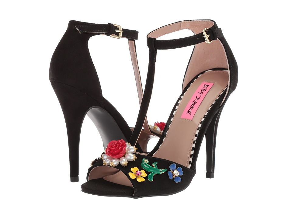 Betsey Johnson Lenox (Black) High Heels