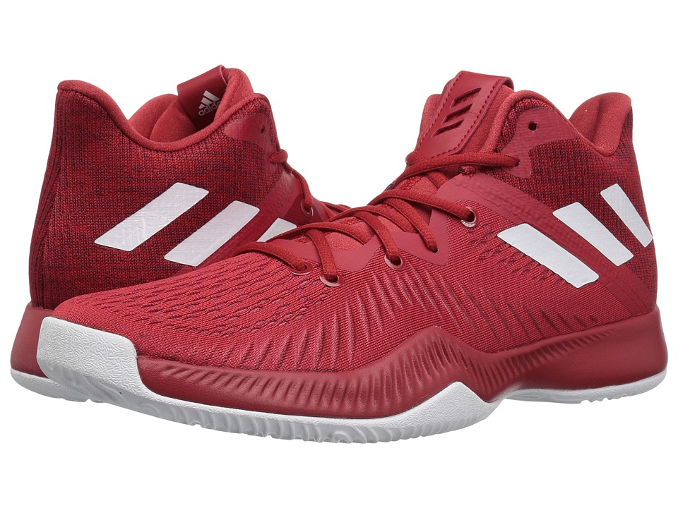adidas Mad Bounce (Power Red/White/Burgundy) Men