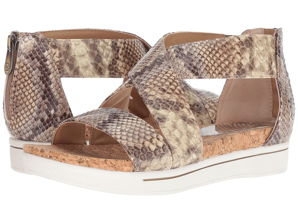Adrienne Vittadini Claud (Tan Brown Faux Snake) Women