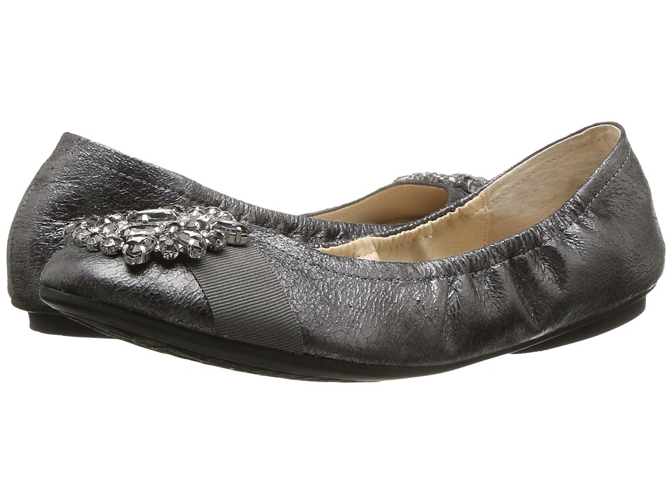 Adrienne Vittadini Cafe (Pewter Brush-Off Metallic) Women
