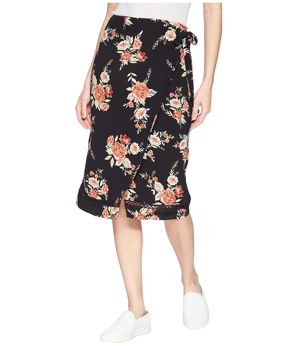 MINKPINK Wallflower Wrap Skirt (Multi) Women