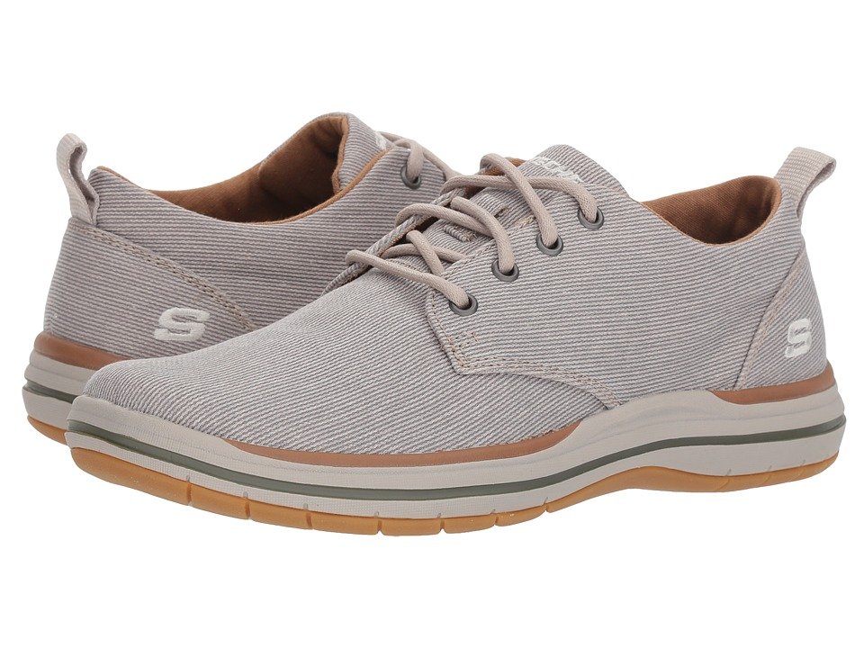 SKECHERS Elson Moten (Light Grey) Men