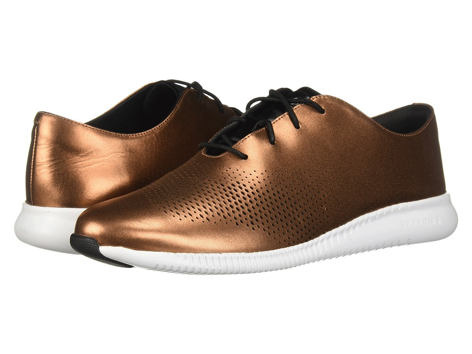Cole Haan 2.Zerogrand Laser Wing Oxford (Copper Leather) Women