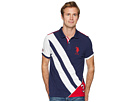 U Stripe Polo Shirt Jersey ASSN S POLO PUPSB