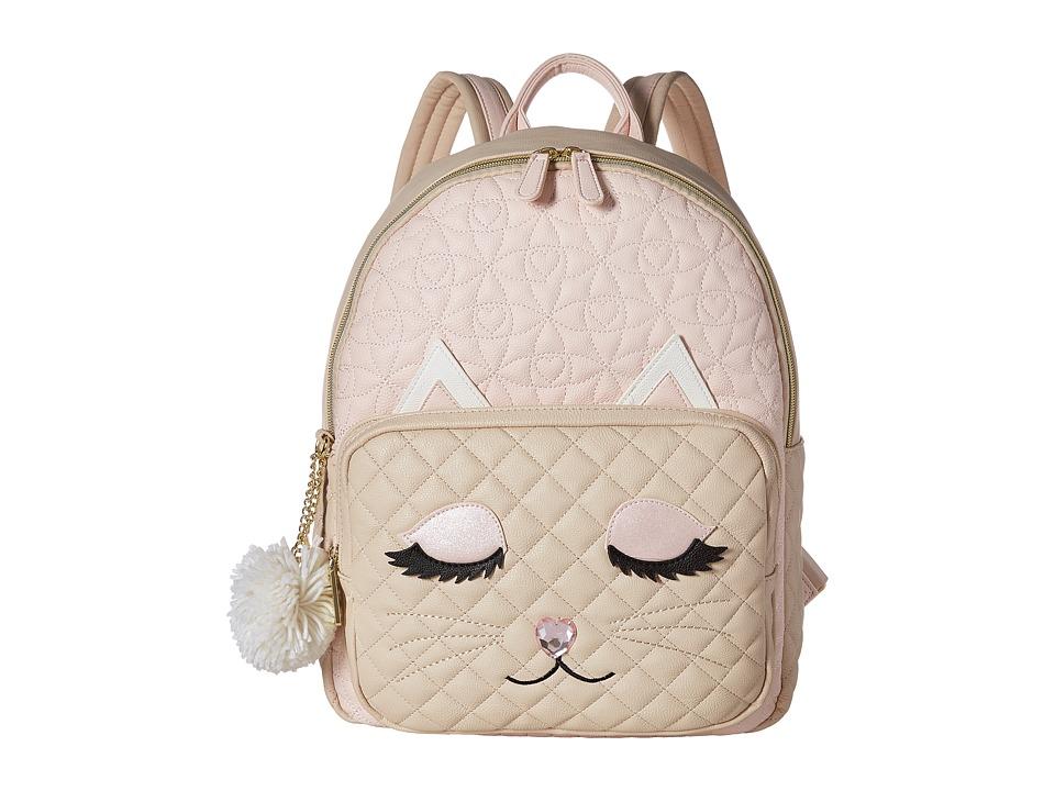 Betsey Johnson Kitsch Backpack (Blush Multi) Backpack Bags